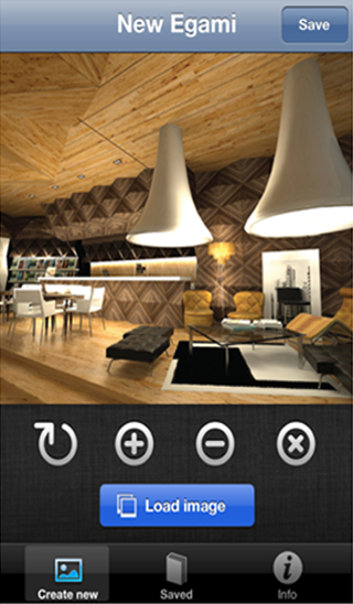 Egami Photo iOS app