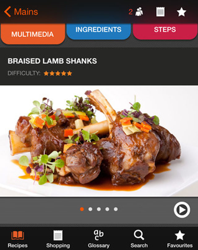 Video CookBook iOS App